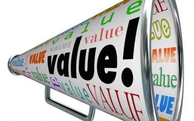 Value = Benefits – Costs