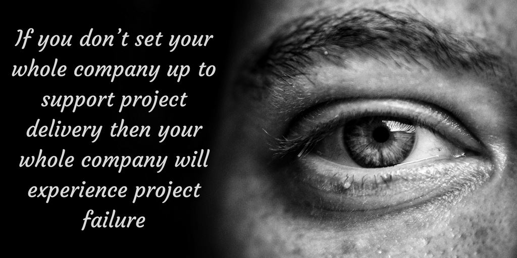 Do most of your projects end in chaos and panic?