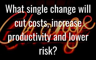 How to cut costs, lower risks and boost productivity