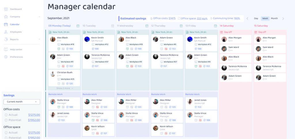 CentralF Calendar